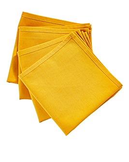 Sunburst Set of 4 Napkins