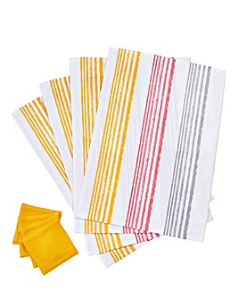 Sunburst Set of 4 Placemats & Coasters