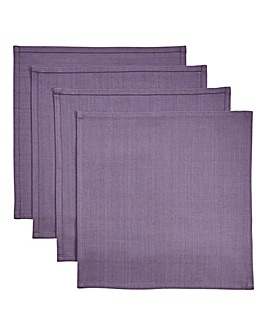 Modern Riad Set of 4 Napkins