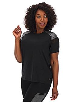 Sparkle Mesh T-Shirt