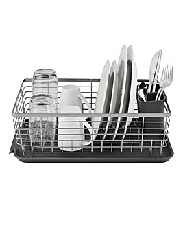 Tower Compact Dishrack with Cutlery Holder