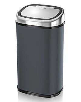Tower 58L Charcoal Square Sensor Bin