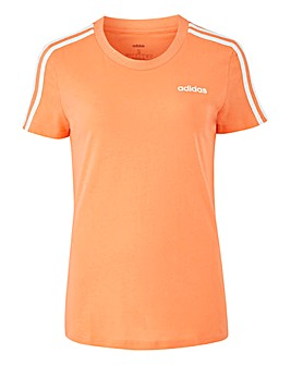 adidas 3 Stripe Slim T-Shirt