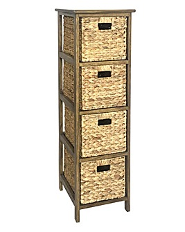 Hyacinth 4 Drawer Tall unit