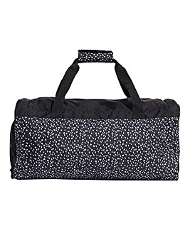adidas Small Print Duffle Bag