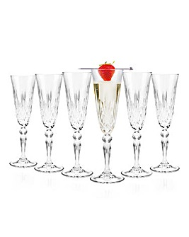 RCR Melodia Champagne Flutes