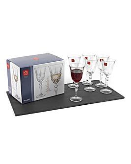Melodia Wine Glasses Set Of 6