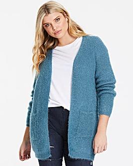 Vero Moda Curve Fluffy Shimmer Cardigan