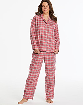 Pretty Secrets Flannel Button Through PJ