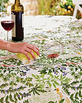 Floral Anti Stain Tablecloth