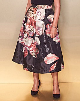 Lorraine Kelly Floral Prom Skirt