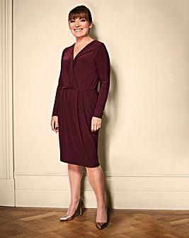 Lorraine Kelly Wrapover Dress