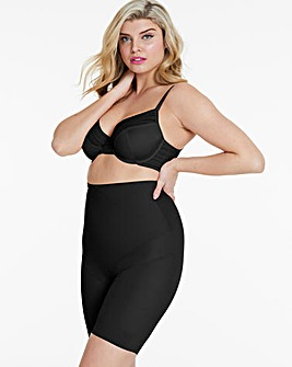 Miraclesuit Black Instant Tummy Tuck High Waist Thigh Slimmer