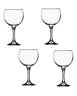 Set of 4 Entertain Gin Glasses