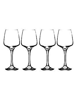Set of 4 Nova Red Wine Glasses