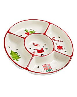 Christmas Decorative Serving Dish