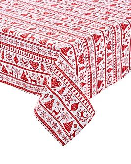 Yuletide Christmas Table Cloth