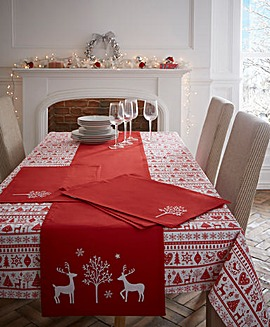Yuletide Christmas Table Runner