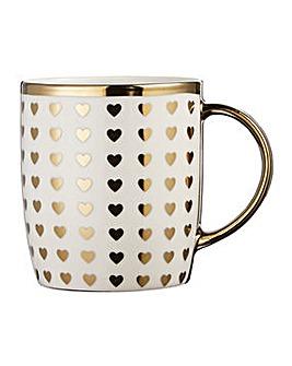 4 Piece Metallic Mugs