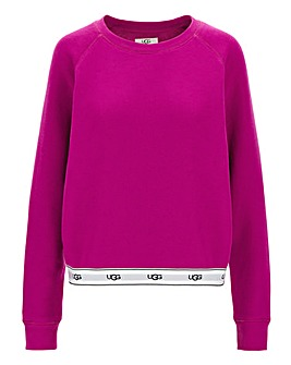 Ugg Nena Fuchsia Pink Lounge Pullover