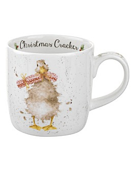 Wrendale Christmas Cracker Mug