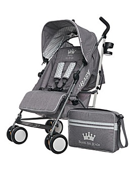 Obaby Zeal Stroller- Born To Rule
