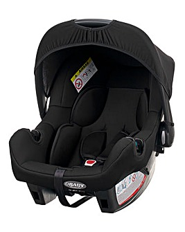 Obaby Zeal 0+ Car Seat with adapters