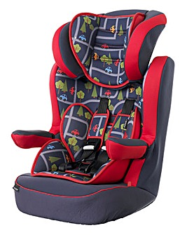 Obaby 1-2-3 Car Seat - Toy Traffic
