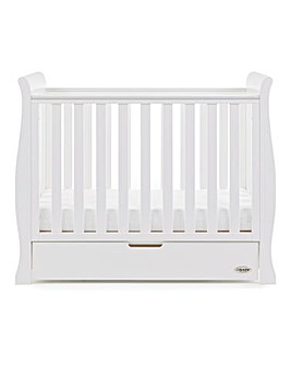 Obaby Stamford Space Saver Cot