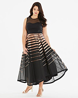 Coast Cass Stripe Maxi Dress