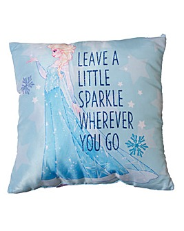 Frozen Icicle Square Cushion