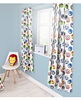 Marvel Avengers Strong Curtains 72in