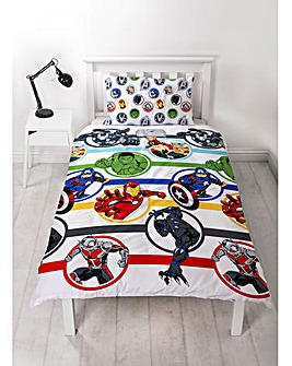 Marvel Avengers Strong Single Duvet