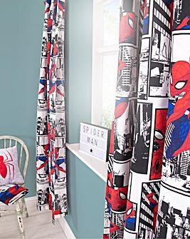 Ult Spiderman Metropolis Curtains 54in