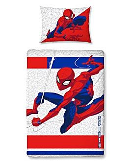 Spiderman Metropolis Junior Panel Duvet