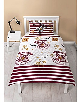 Harry Potter Muggles Single Rotary Duvet