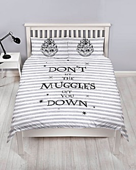 Harry Potter Spell Double Panel Duvet