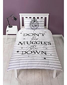 Harry Potter Spell Single Panel Duvet