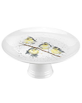 Wrendale - Footed Cake Stand (Birds)