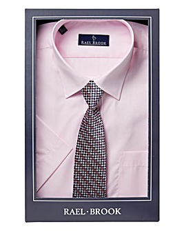 Rael Brook Boxed S/S Shirt With Tie