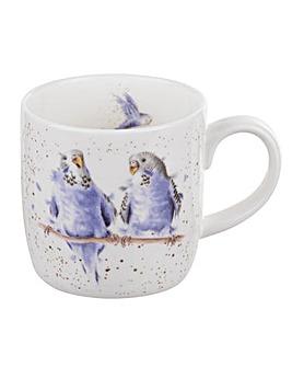 Wrendale - Date Night Mug (Budgie)