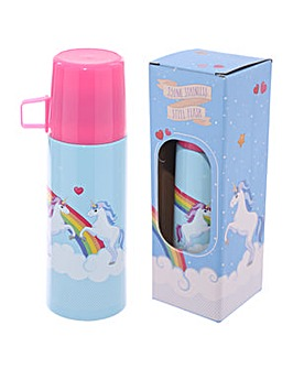 Funky 350ml Flask Fantasy Unicorn Design
