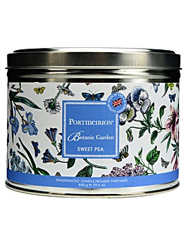 Portmeirion Sweet Pea Wick Candle