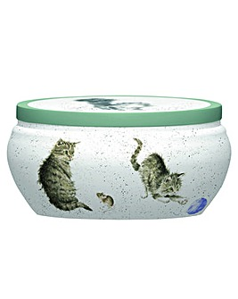 Wrendale Boutique Tin Candle (cat)