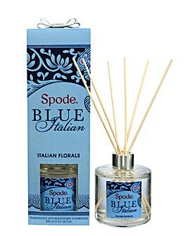 Spode Blue Italian 200ml Reed Diffuser