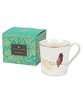 Sara Miller Opulent Owl Mug