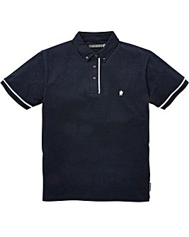 French Connection Piped Polo