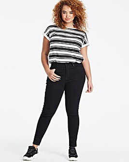 Petite Black Everyday Skinny Jeans