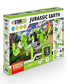 STEM Jurassic Earth Motorized Vehicles