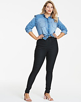 Petite Black Skinny Jeans